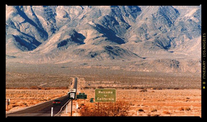 Roadtripping in California