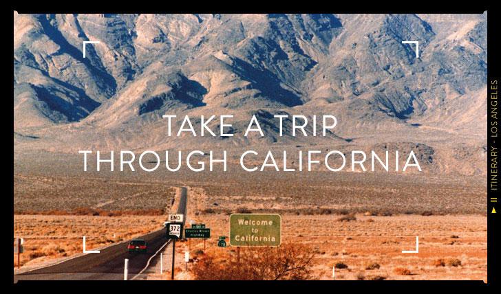 A trip through California