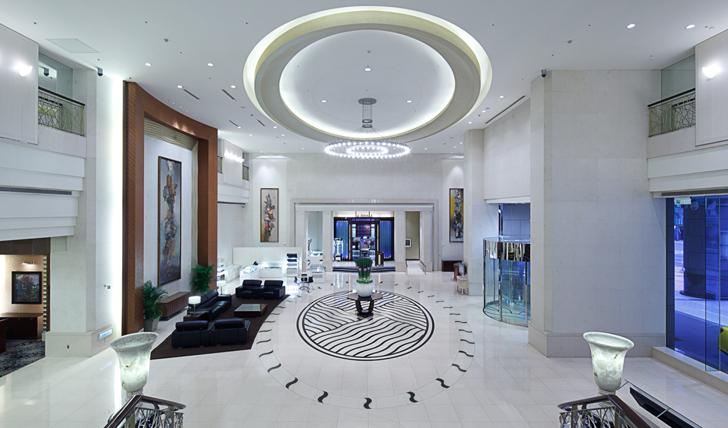Lobby at Tayih Landis Hotel