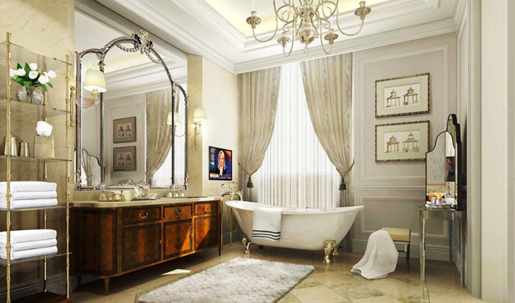 Bathe in luxury
