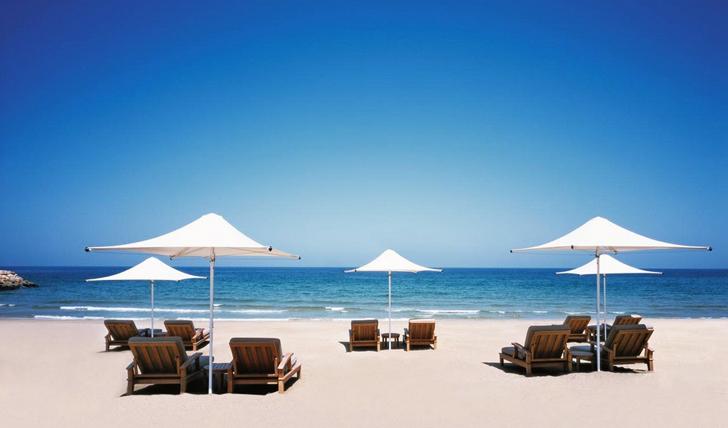 Enjoy the immaculate beach