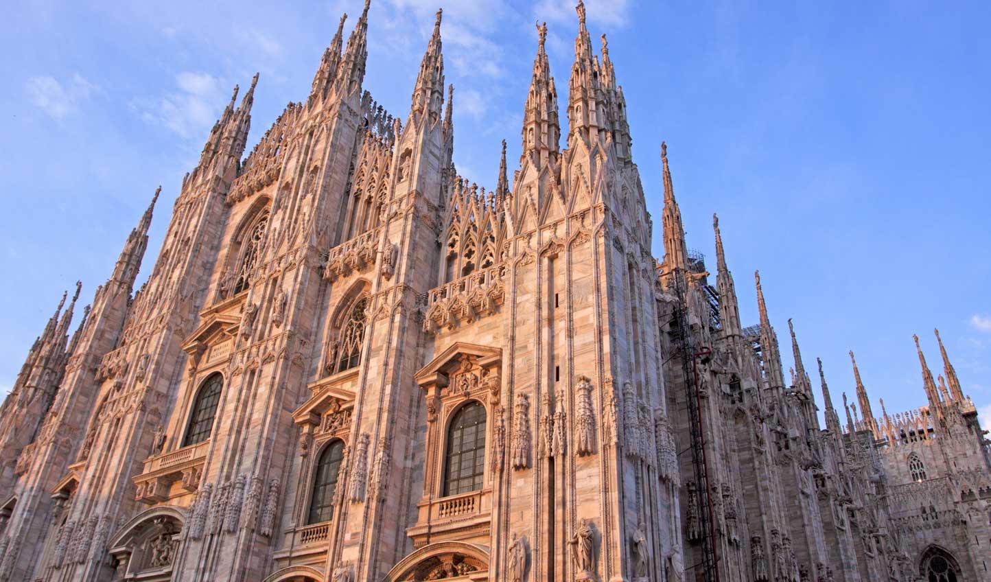Marvel at Milan's mighty Duomo