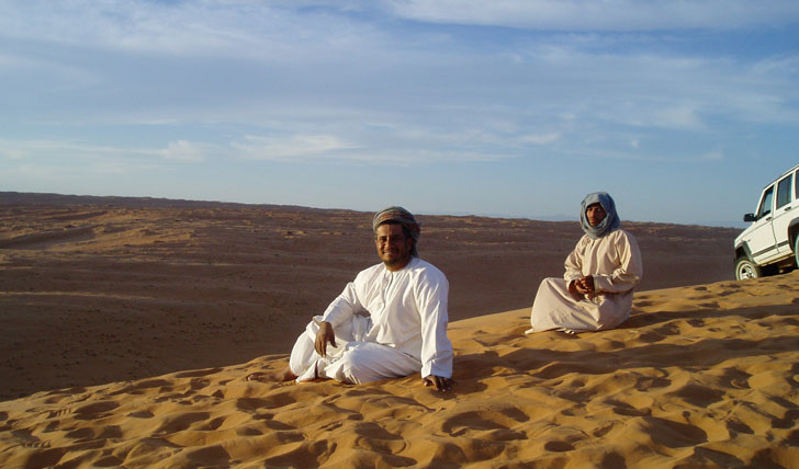 Explore the dunes with Bedouin