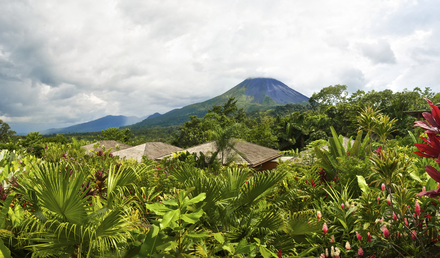 Stay in the shadow of Arenal