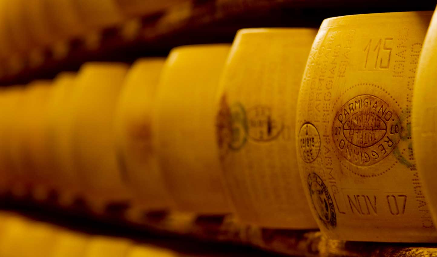 Get your tastebuds going with a Parmigiano Reggiano tasting