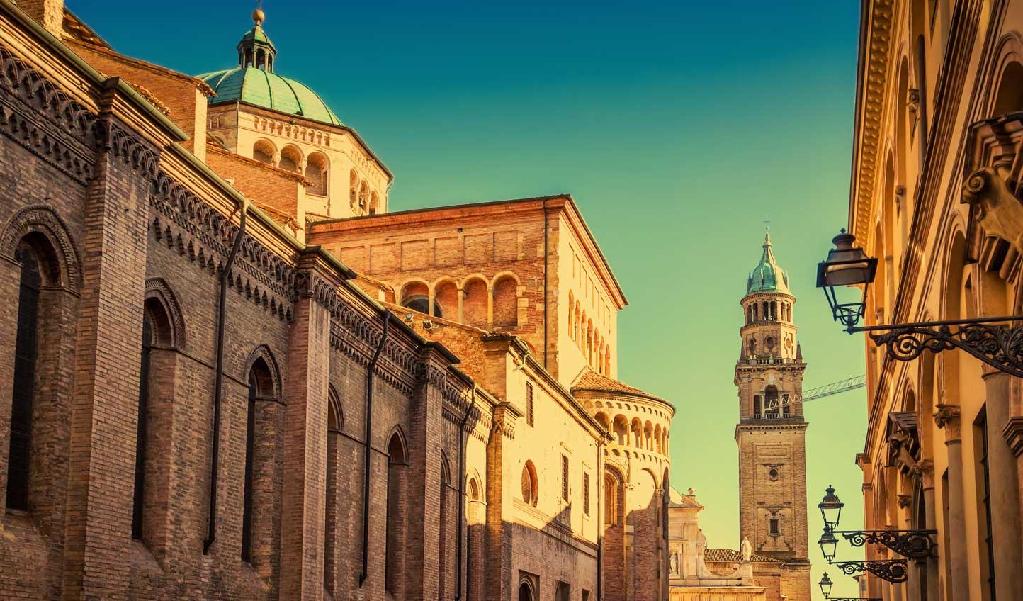 Save time to take in Parma's impressive architecture