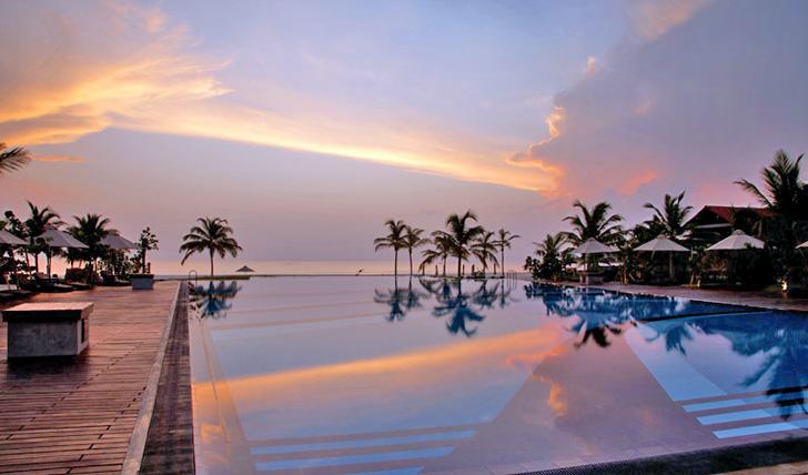 Take a dip in the pool at Uga Bay