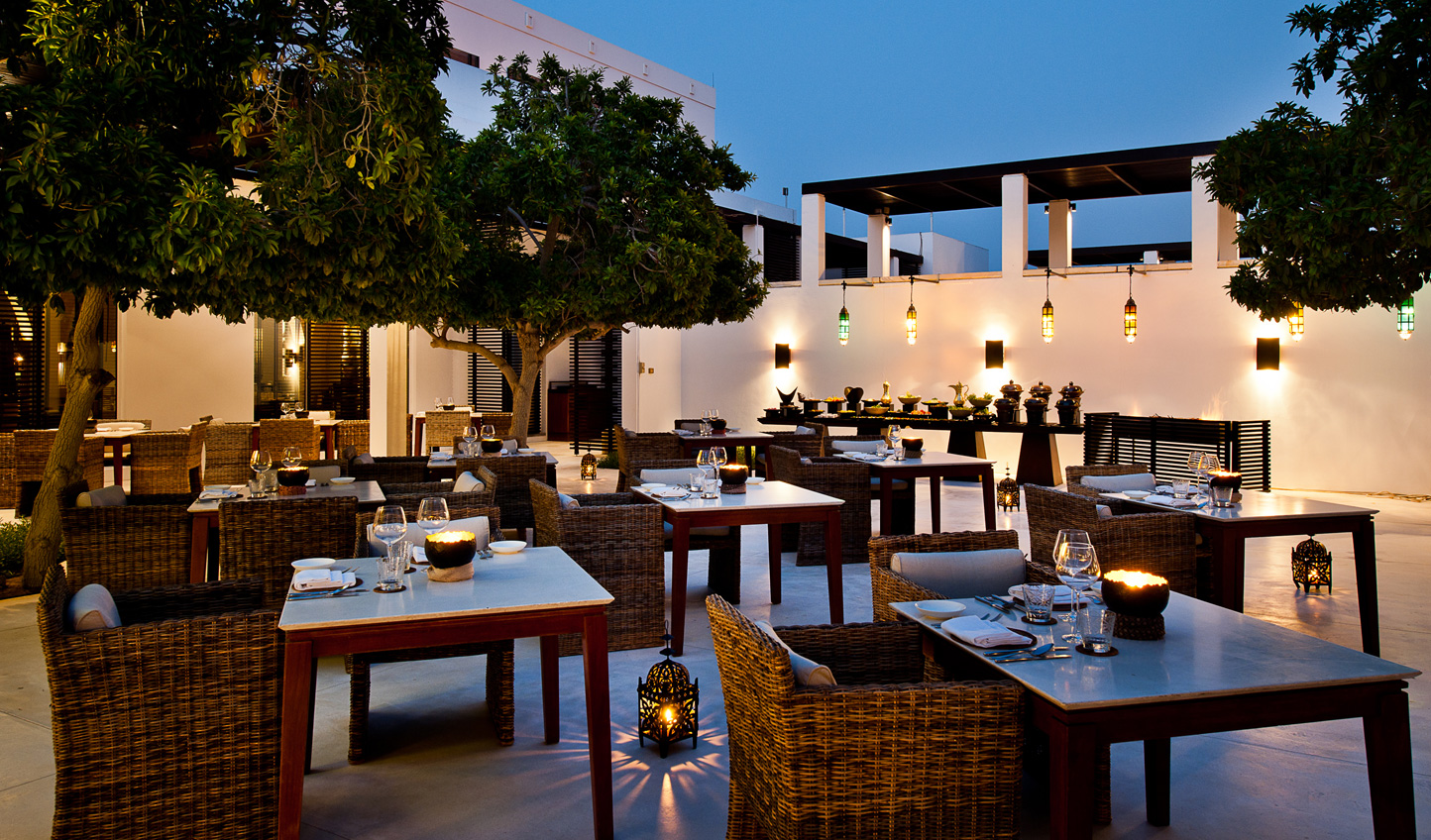 Enjoy those Arabian Nights out on the Arabian Courtyard