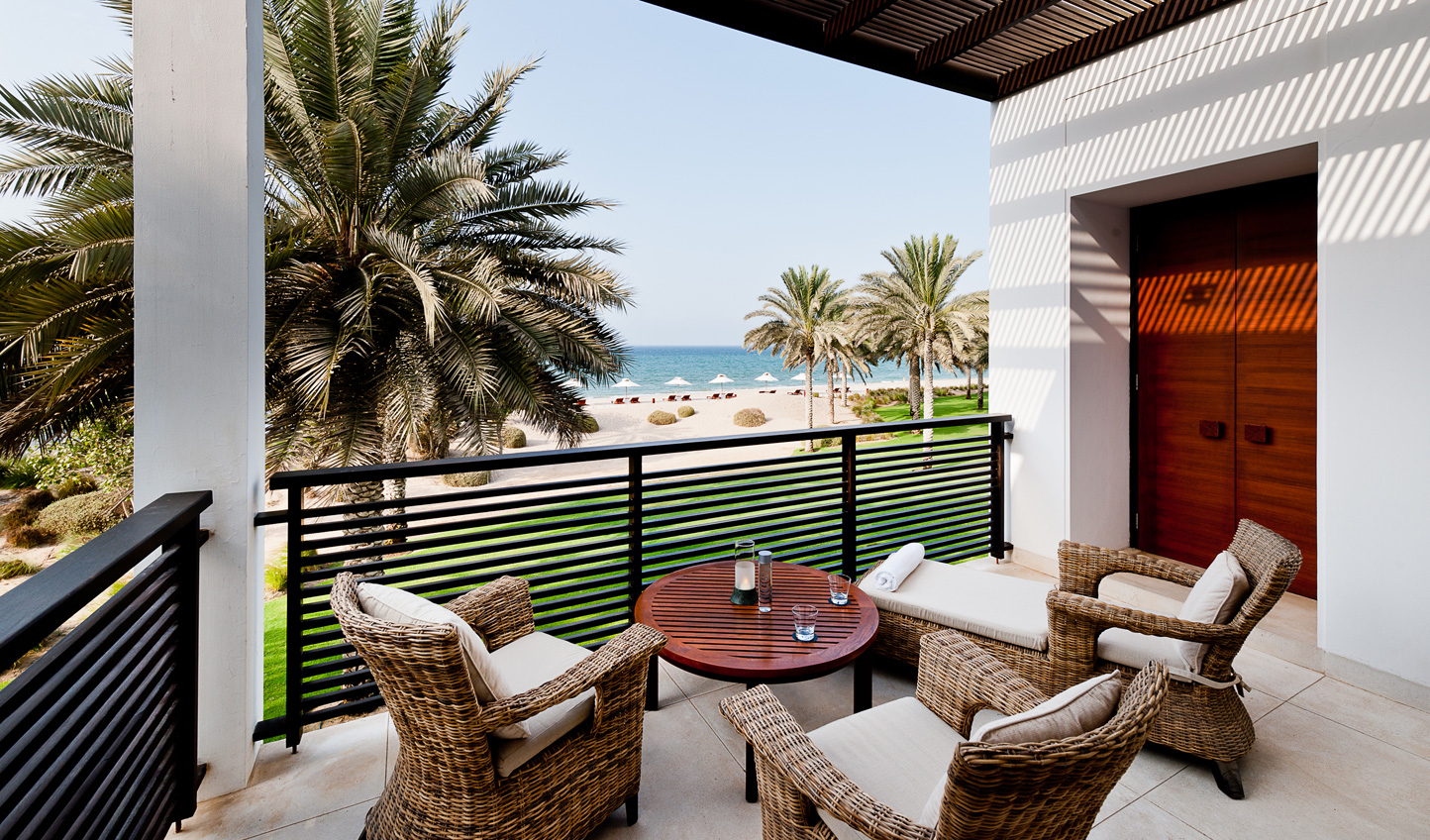 Soak up the sea views from your private balcony