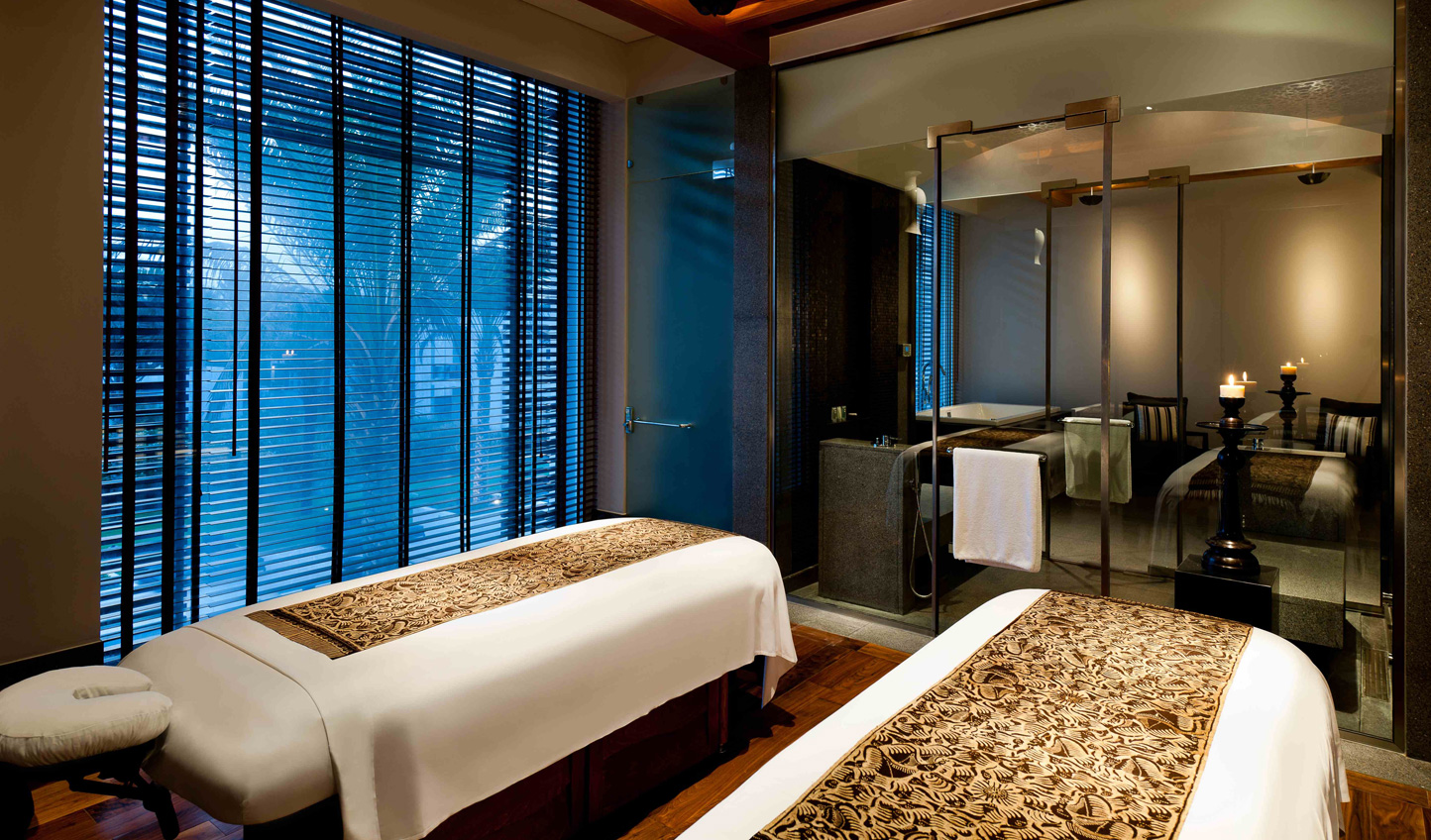 Total relaxation awaits in the spa