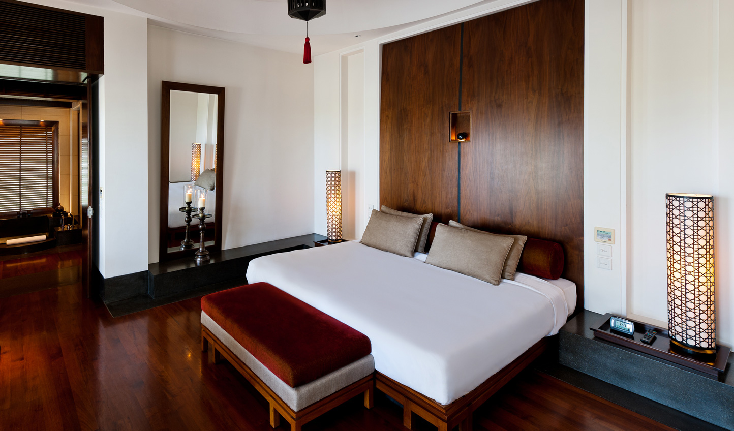 Sleek minimalist design with an Arabian warmth