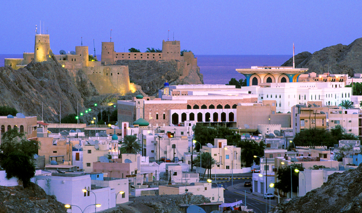 Explore Muscat by night