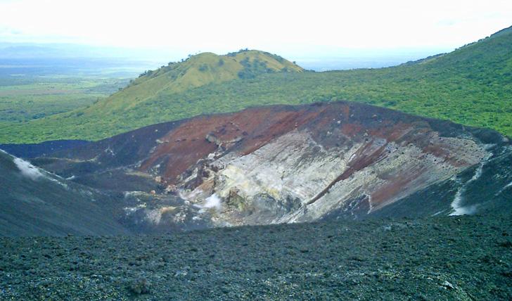 Cerro Negro crater, Nicaragua