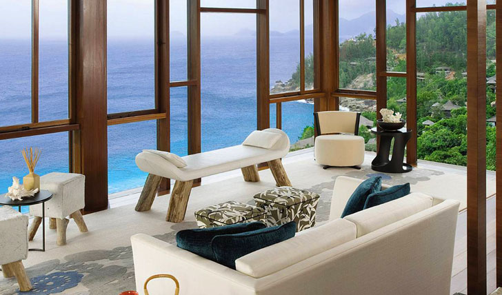 Ocean views from your lounge