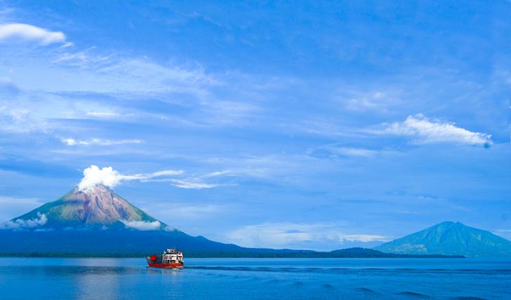 Pristine Lake Nicaragua