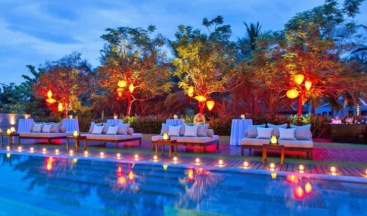 Pool side vibes at Nam Hai