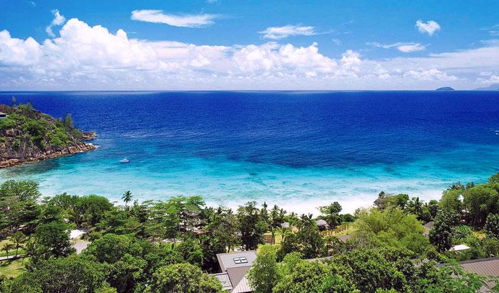 Idyllic bay view
