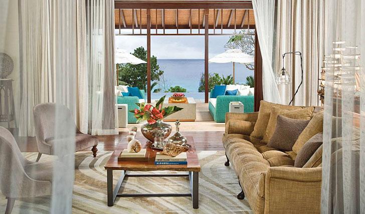 Beautiful ocean-view suites
