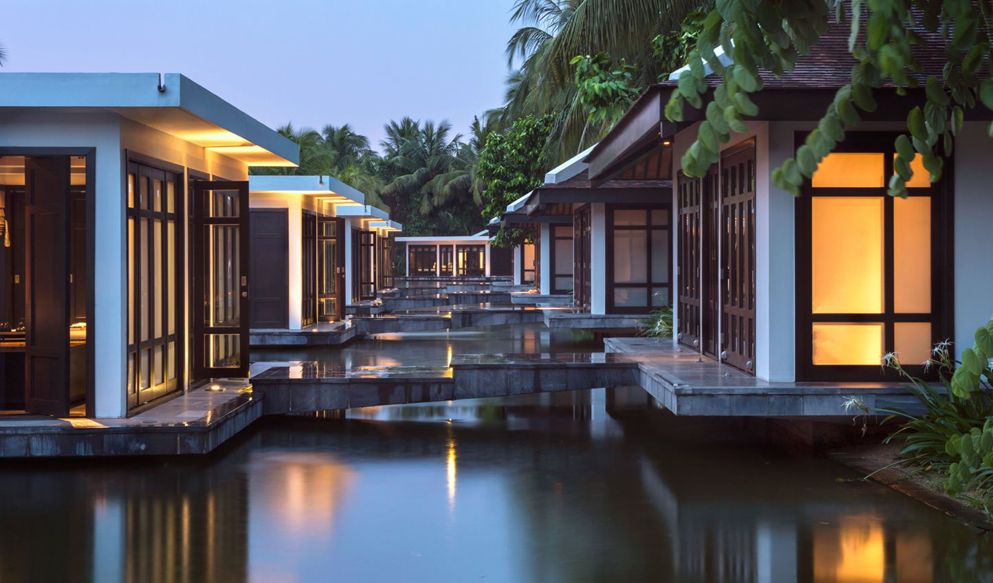 Step into a sanctuary on the lake at the Four Seasons Nam Hai Spa