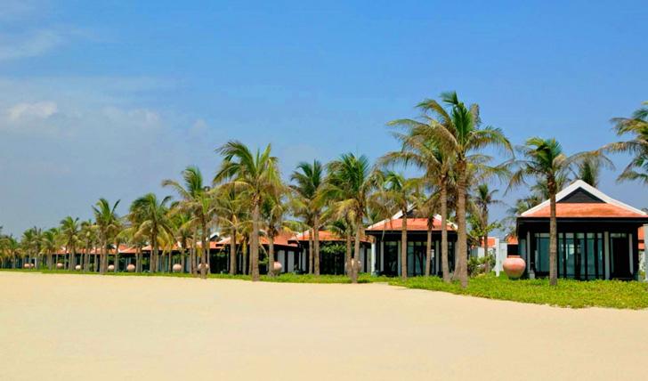 The beach at Nam Hai