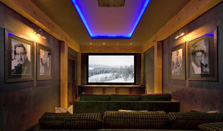Bighorn's private cinema