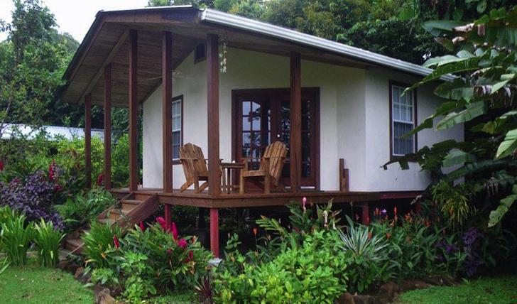 A luxurious cabana