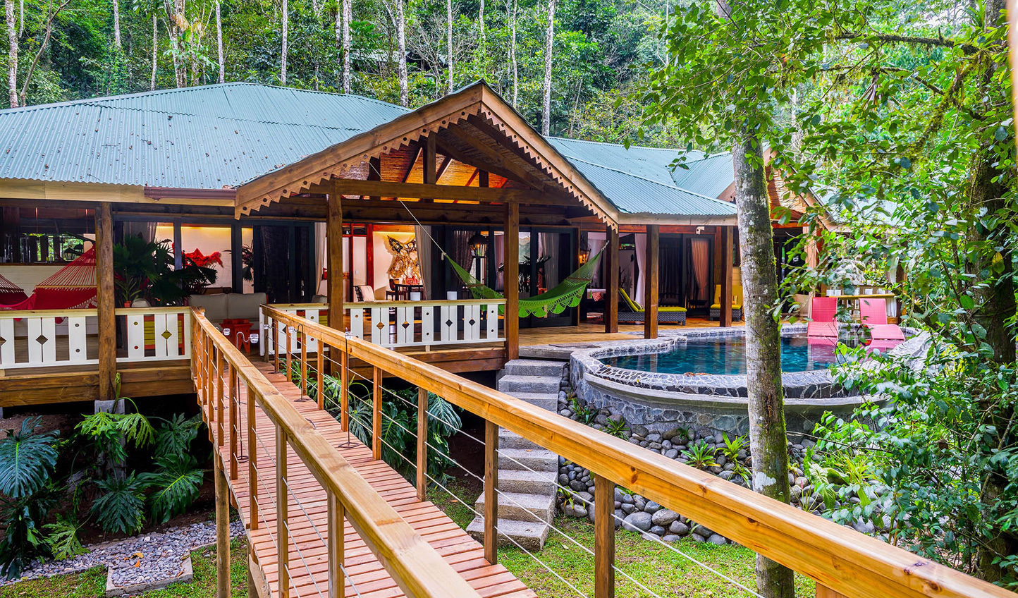 Stay at luxurious eco-lodge, Pacuare Lodge, on Costa Rica's Pacuare River