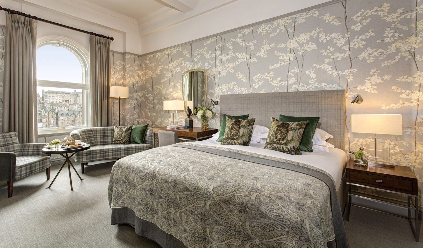 Classically elegant with traditional Scottish touches
