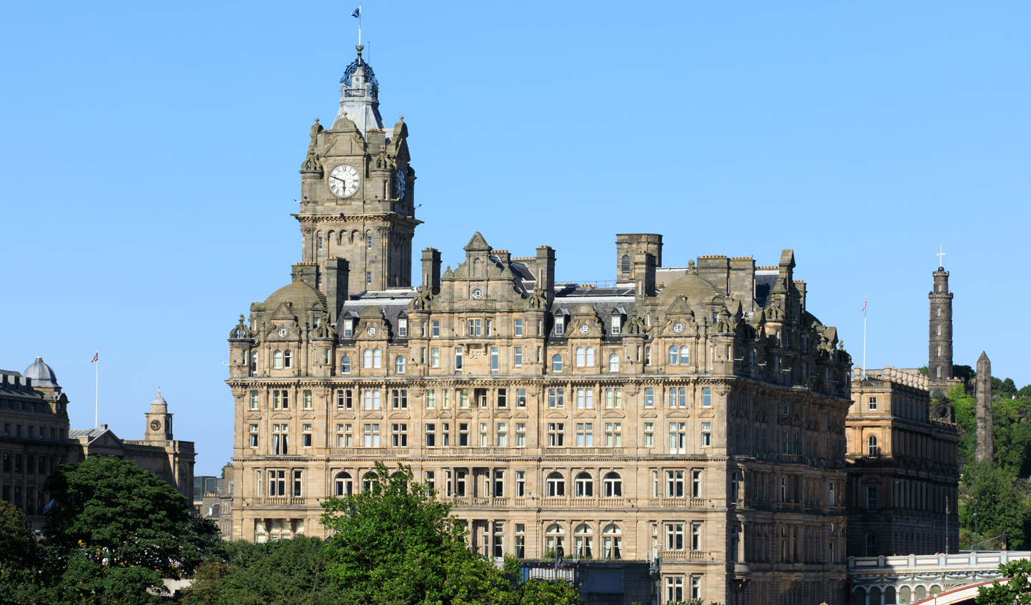 A landmark hotel in Edimburgh