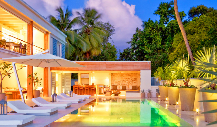 Luxury holidays in the Caribbean
