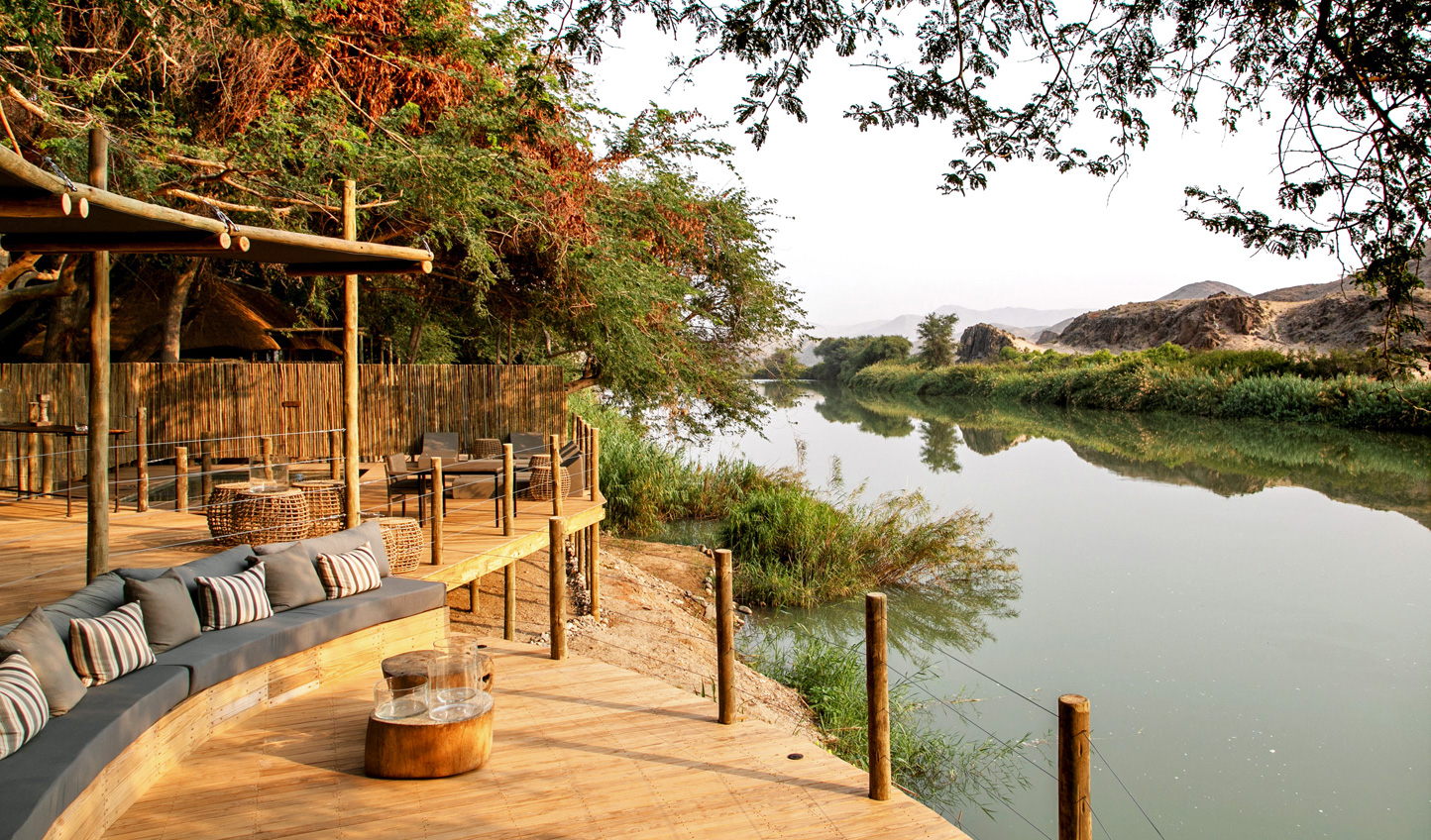 The perfect spot for your evening sundowner