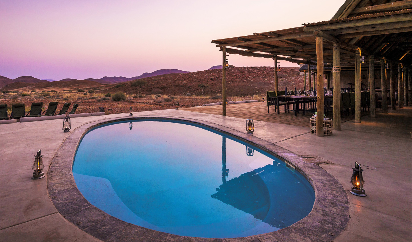 Slip into splendid isolation at Damaraland Camp