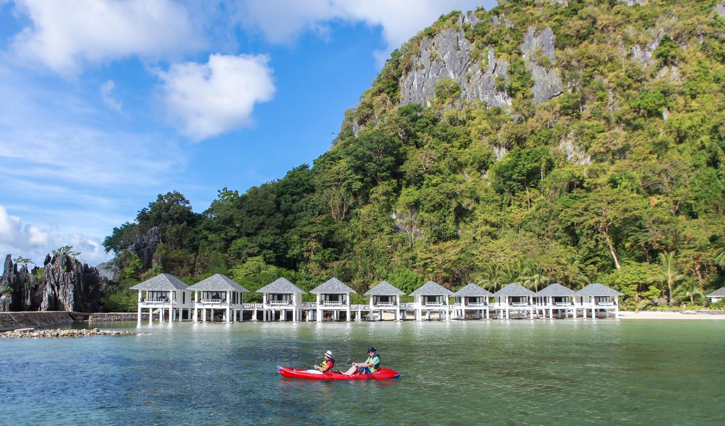Beautiful limestone mountains