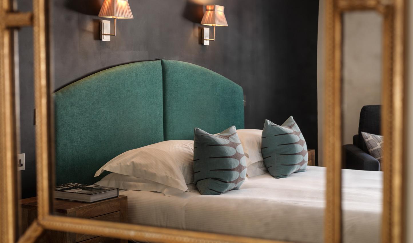 Sleek, modern designs in the rooms