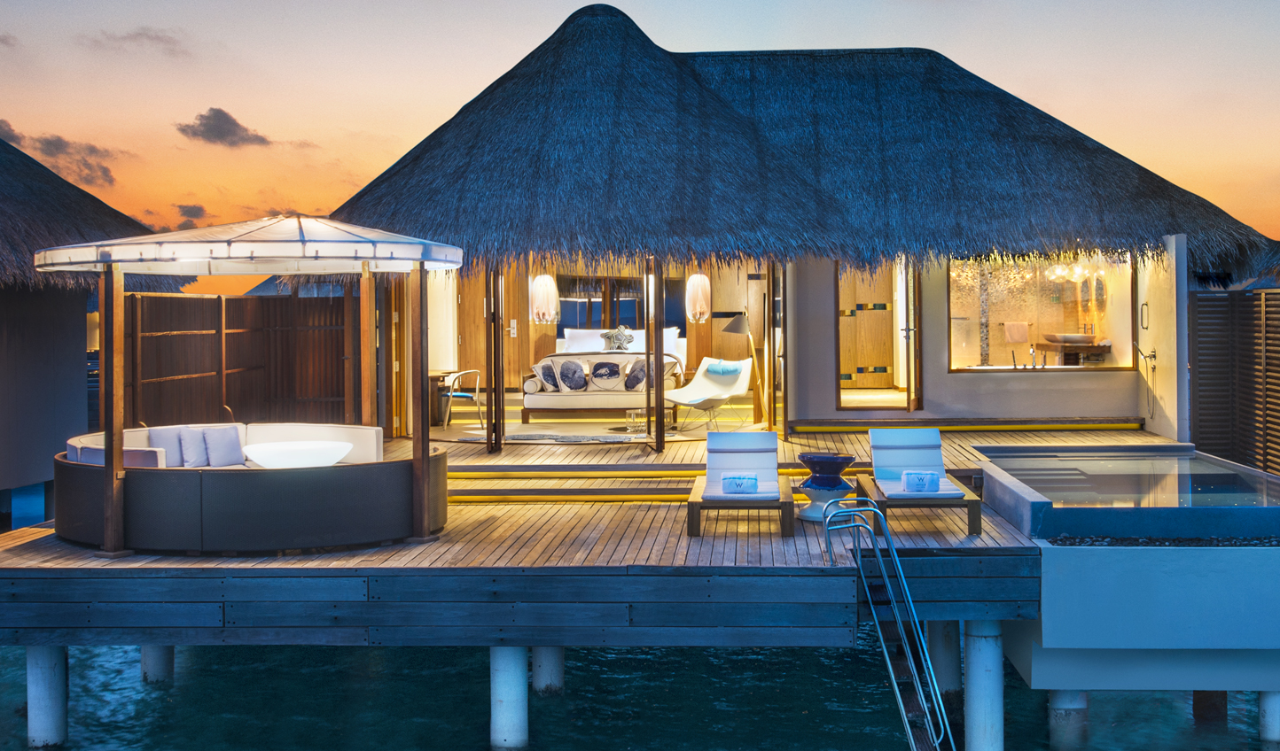 Hole up in your Fabulous Overwater Oasis