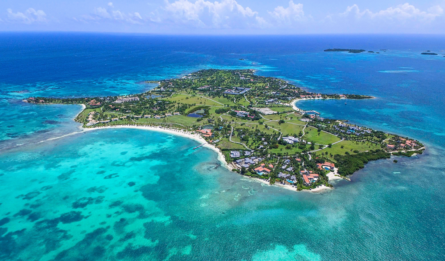 Escape to your private island at Jumby Bay