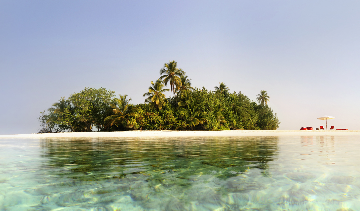 Escape to a private island for just the two of you