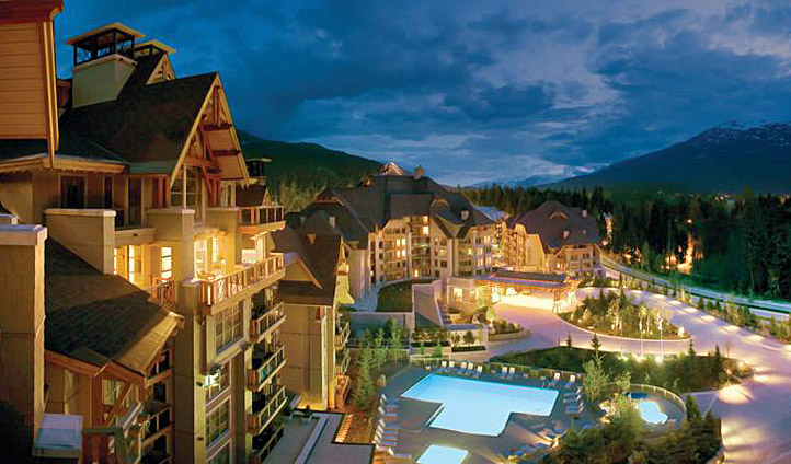 The Four Seasons Whistler's beautiful exterior