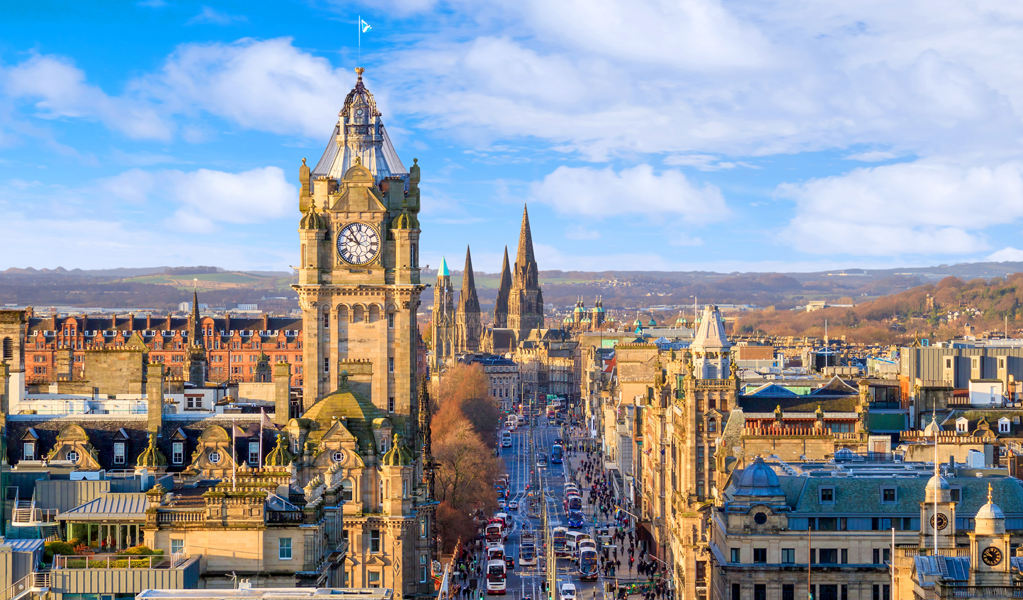 Discover Edinburgh on a stroll down Princes Street