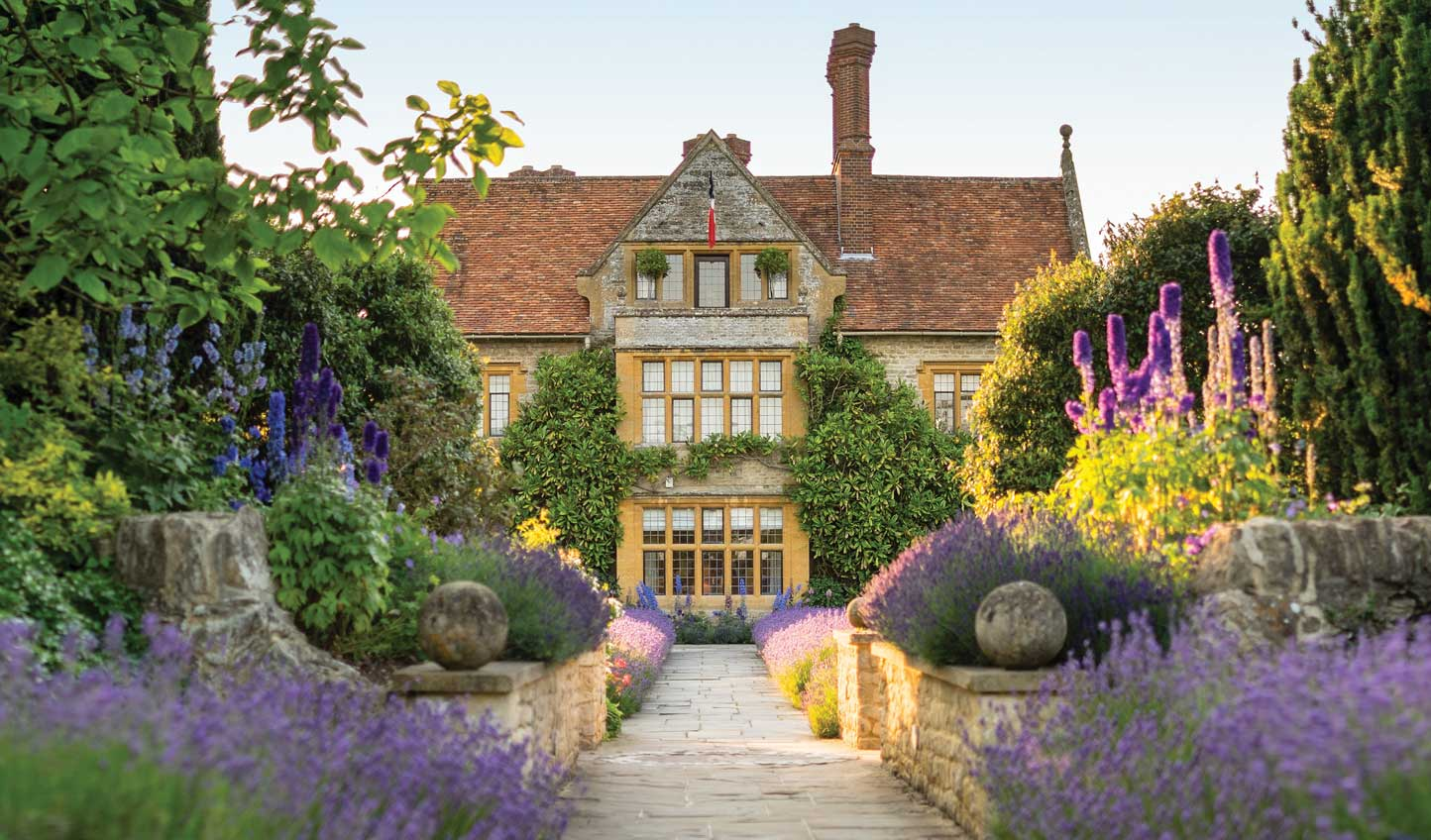 Indulge in some haute cuisine at Le Manoir aux Quat'Saisons