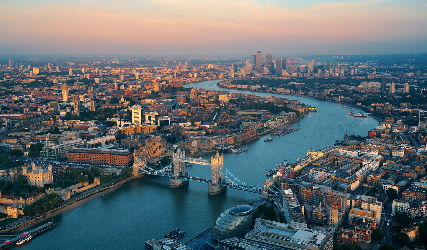 Get a bird's eye view of London