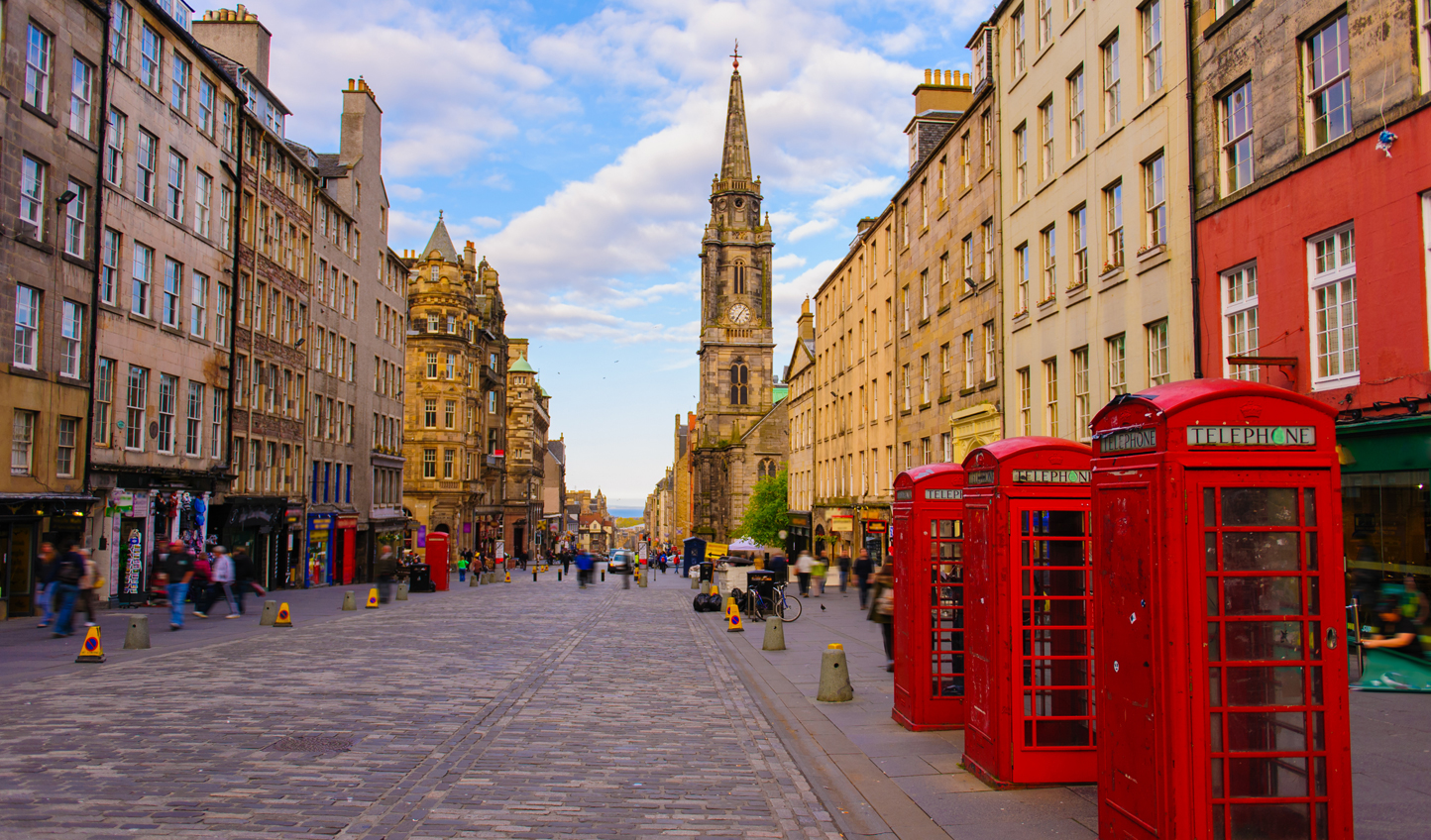 Take a walk up the Royal Mile