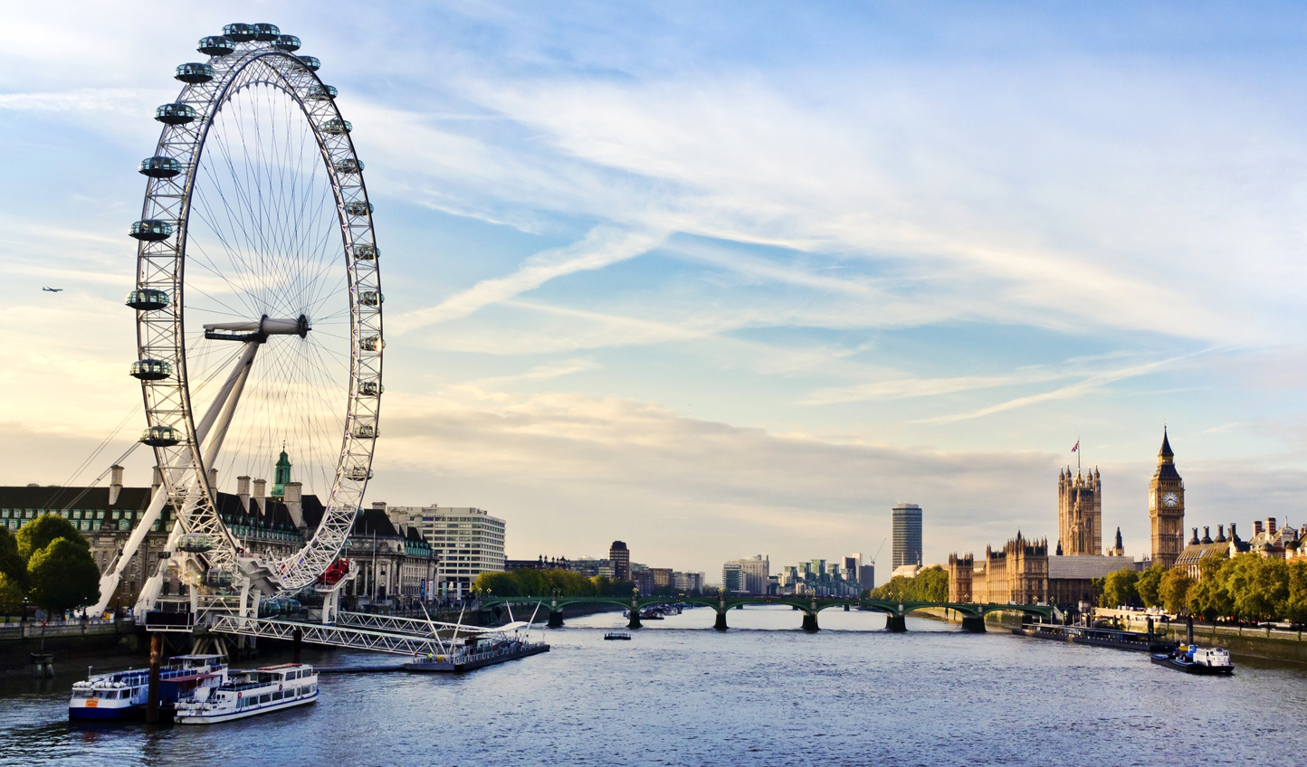 Kick start your tour of the British Isles in beautiful London