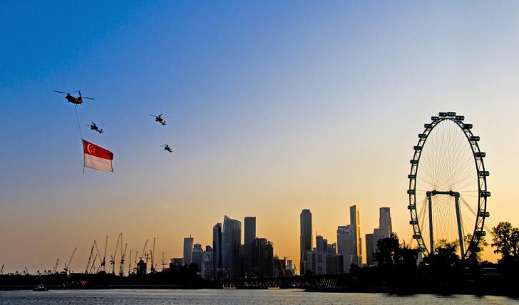 Luxury holiday to Singapore