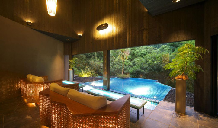private plunge pool at Hakone Ginyu