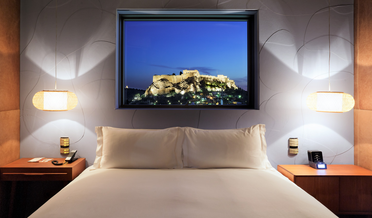 Look at the views from your bed in the penthouse