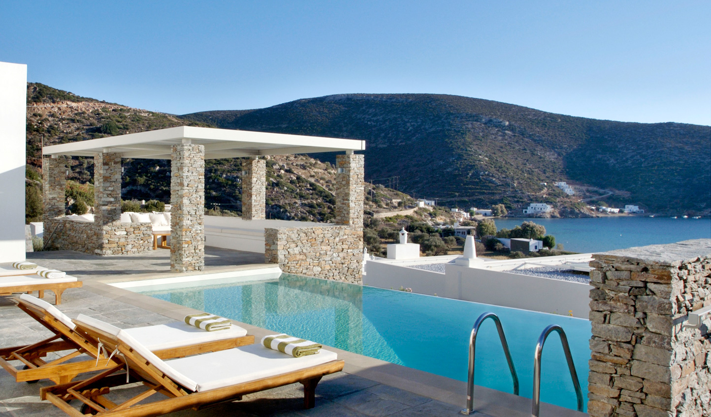 Who can resist a private plunge pool?