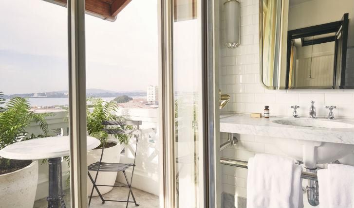 Luxurious Aesop toiletries