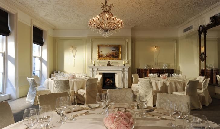 Dine in luxury