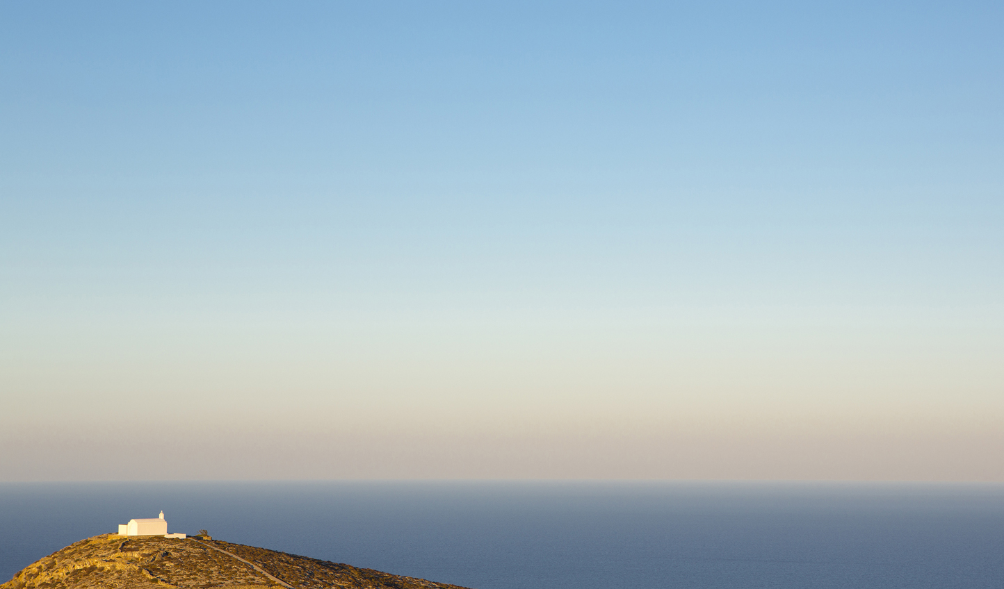 Splendid isolation on Folegandros